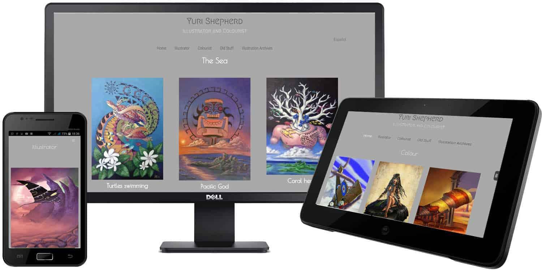 Yuri Shepherd Website